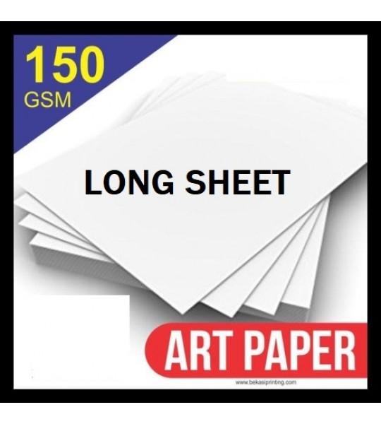 ART PAPER 150 LONGSHEET