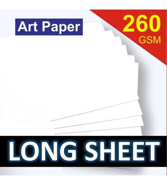 ART PAPER 260 LONGSHEET