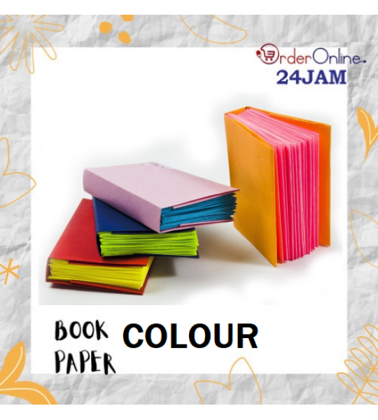 PAPER BOOK COLOUR