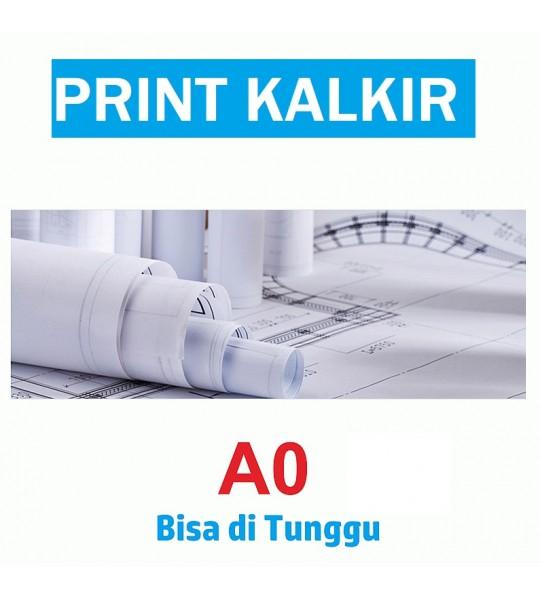 PRINT KALKIR A0