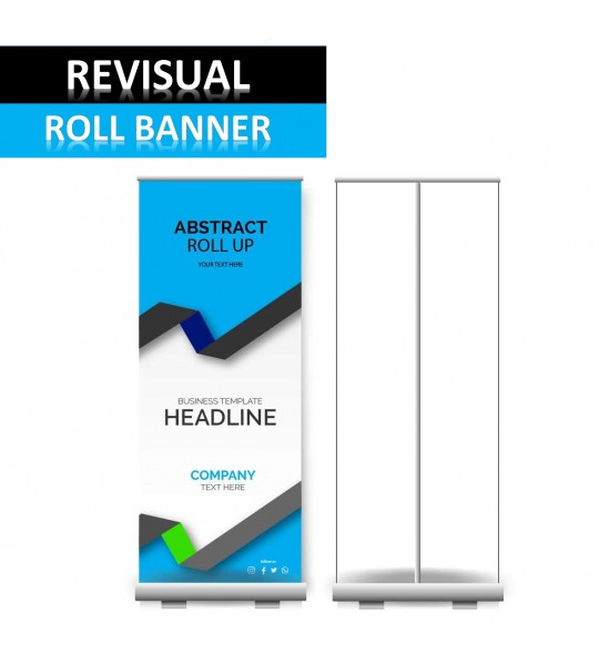 REVISUAL ROLL BANNER
