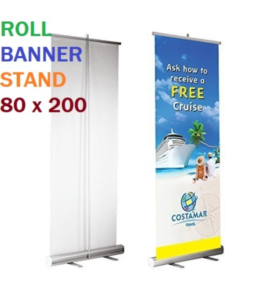 ROLL BANNER STAND 80 X 200