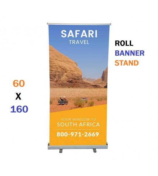ROLL BANNER STAND 60 X 160